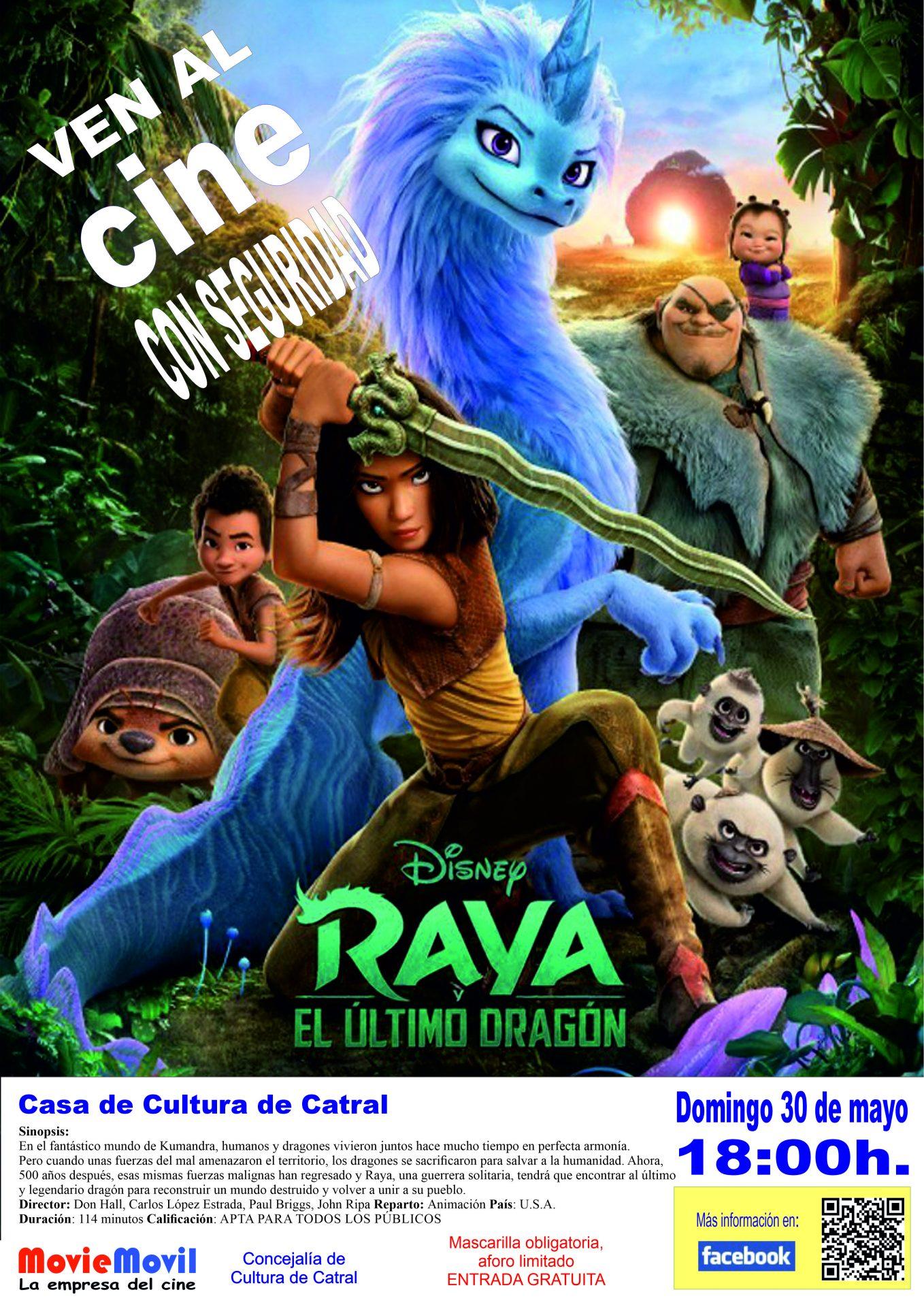 Cine - Raya y el ultimo dragón
