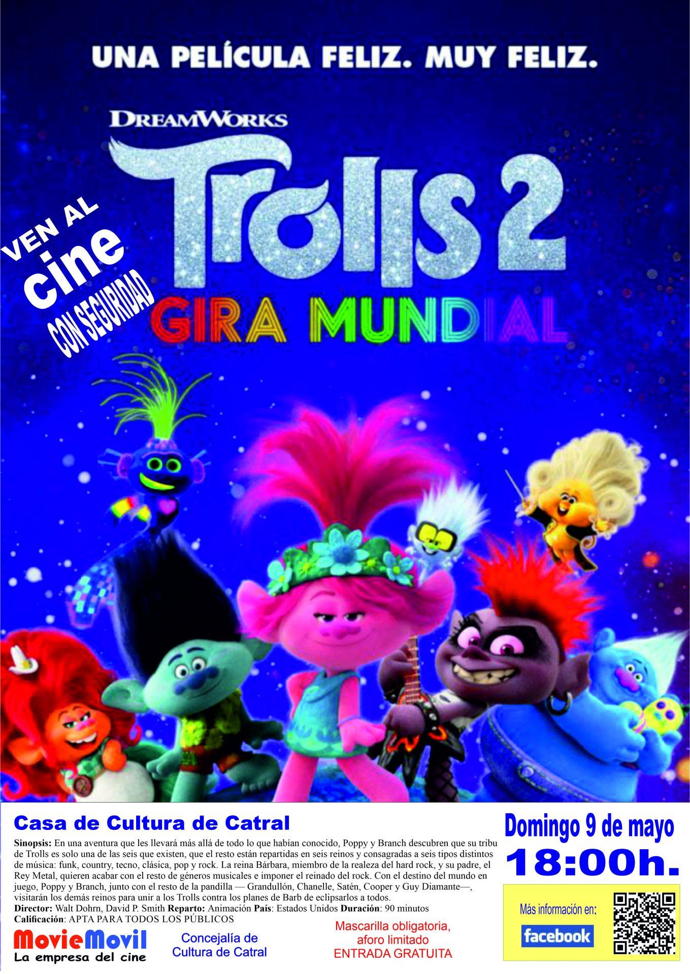 Cine - Trolls 2 Gira mundial