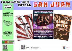 Programación Semana 3 San Juan Catral