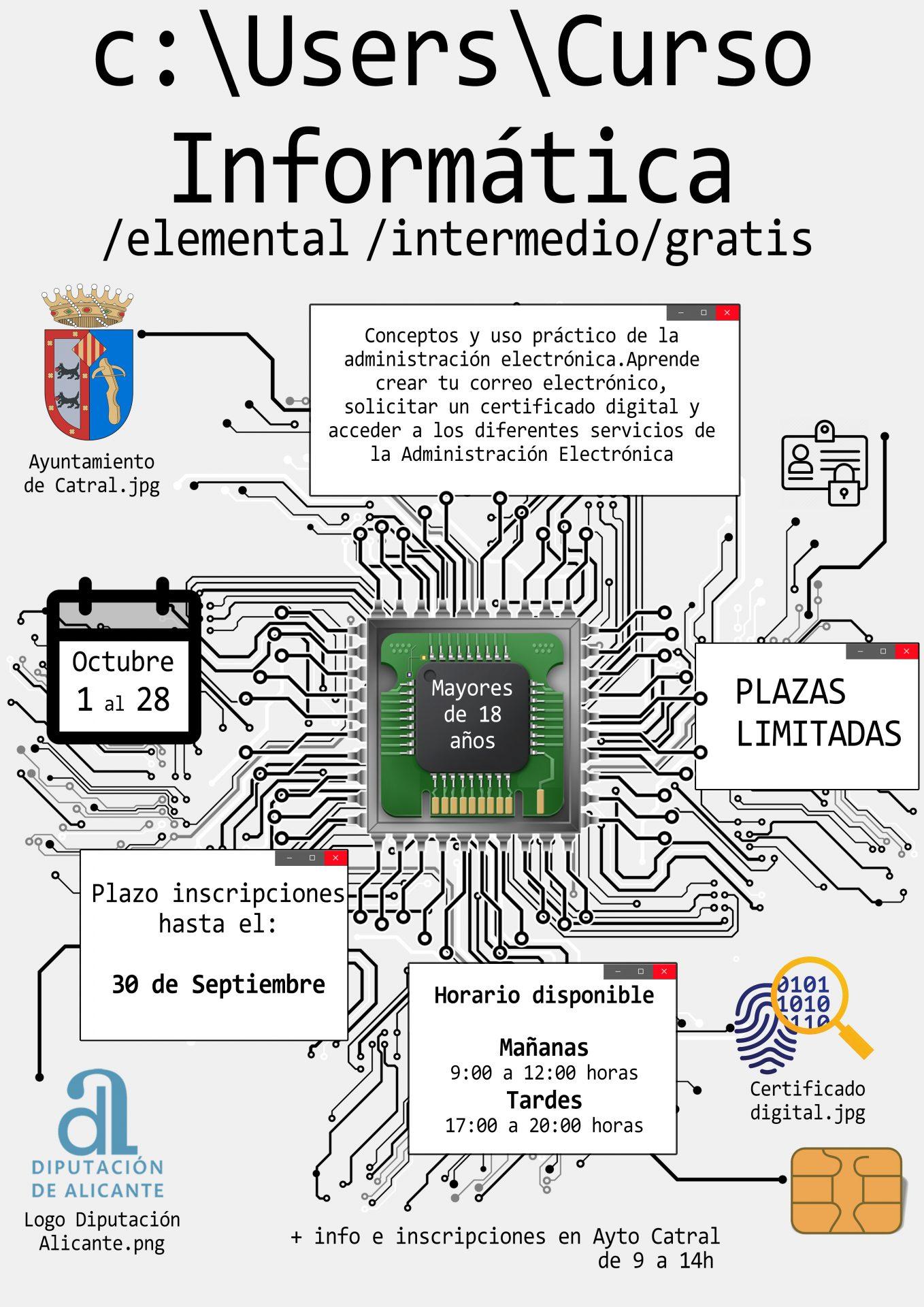 Curso de Informática - Administración Electrónica